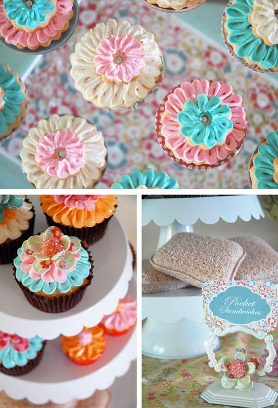 Really cute cupcakes!