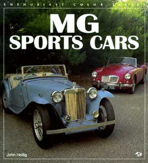 MG Sports Cars Enthusiasts Magazine Cover