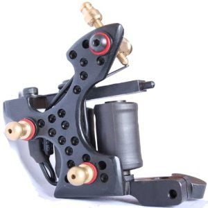 professional darksteel iron Handmade Tattoo Machine 10 wraps GUN e010867 by cool2day. $42.99. Features: This top tattoo machine gun made by carbon iron with polish finished, 10 wrap coils running B and more stable to work.    It could be used for liner or shader as your need.This machine is compatible with all standard power supply, grips and needles Specifications? Net Weight: approximatly 8.1oz's:   10 wrap coils,   Construction: darksteel   Material:  darksteel   Co...