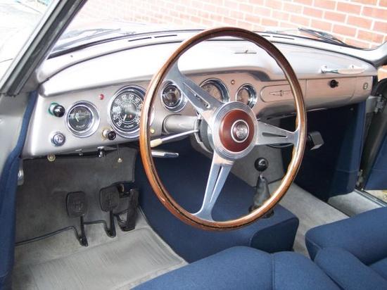 1954 Alfa Romeo 1900 CS bodied by Pinnin Farina  s/n AR1900CS 01651  Sliver with Blue Cloth Interior and Grey Carpets