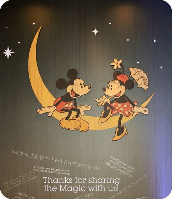Mickey in the Moon