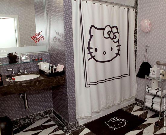 hello kitty bathroom decor