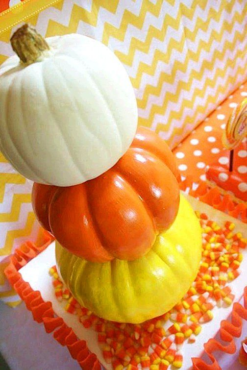 Candy Corn Theme party ideas