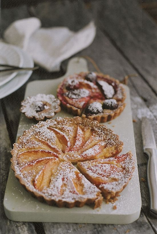 Always With Butter: Stone Fruit Tart