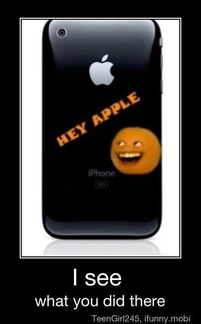 Annoying orange case