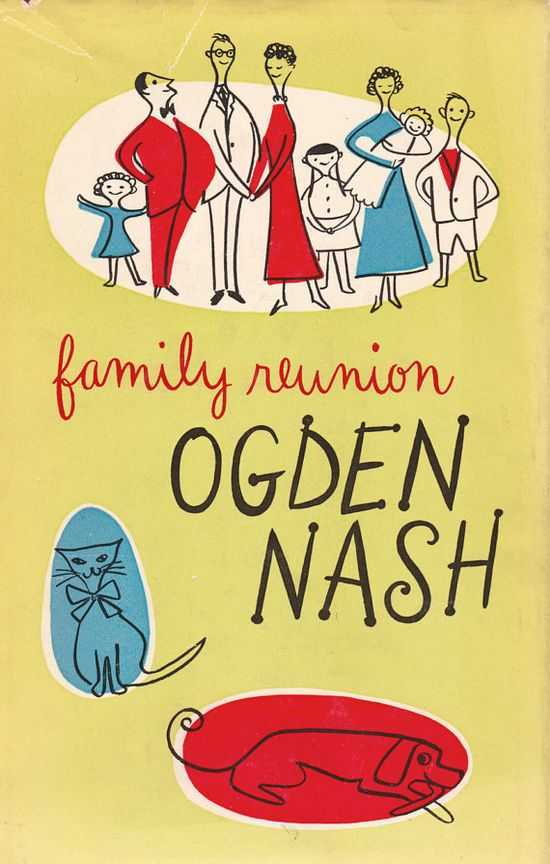 Family Reunion by Ogden Nash by ElwoodAndEloise on Etsy