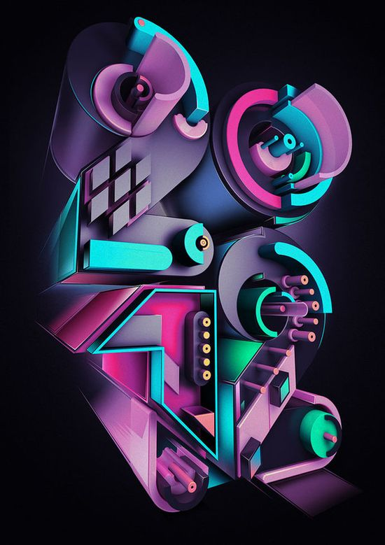 3D Lettering #typography