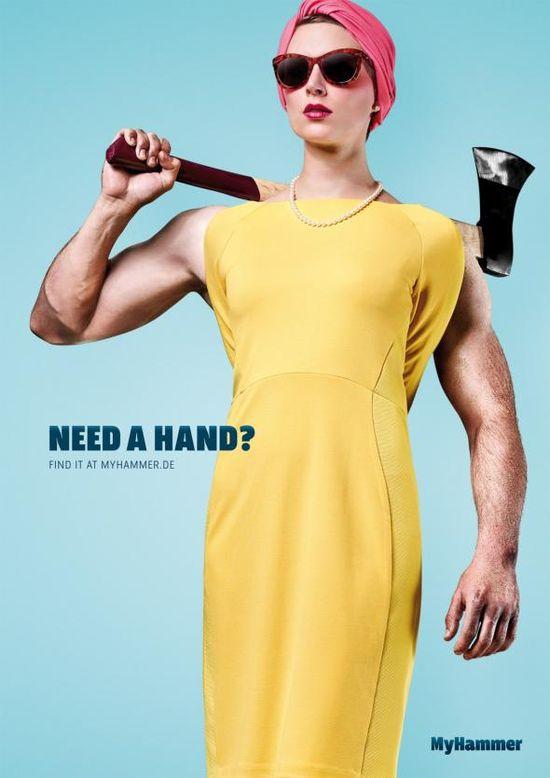 MyHammer: Need A Hand?, 1 adsoftheworld.com...