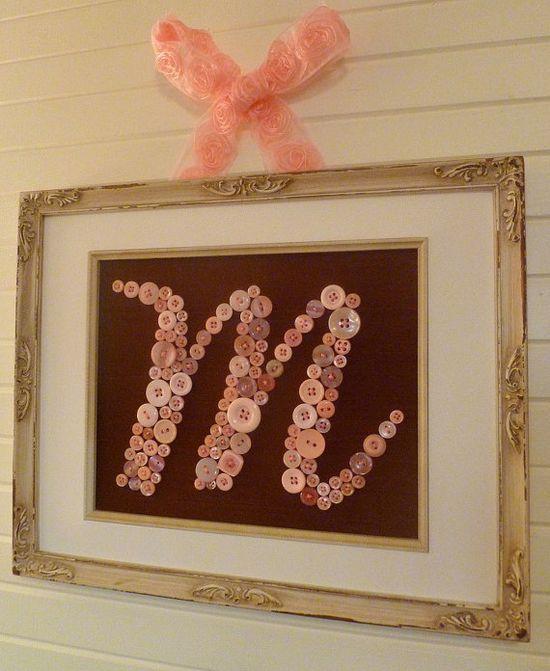 Do a  monogram for Libby's room???