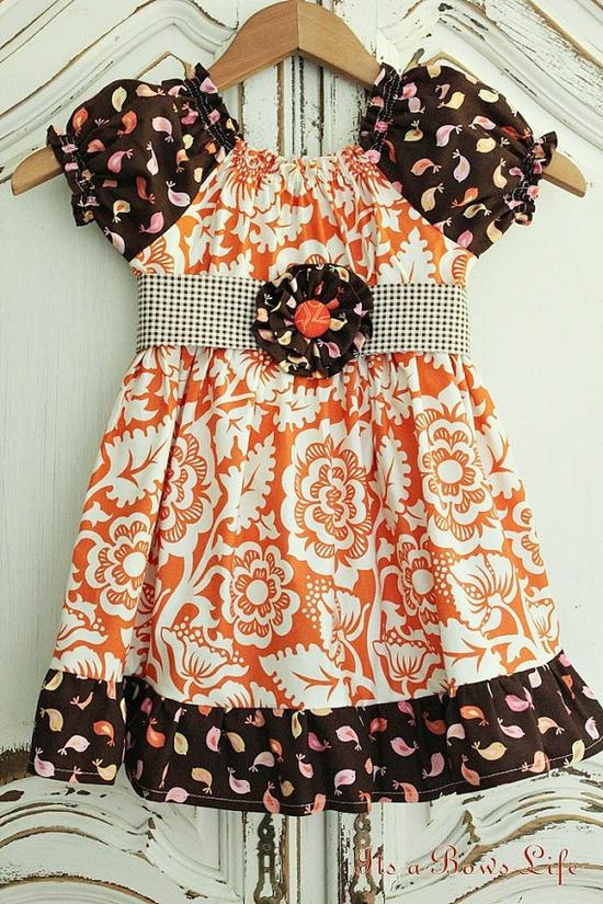 Inspiration - new fall peasant dress