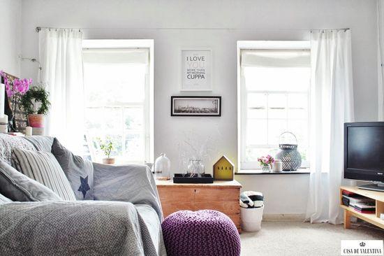 Via Casa de Valentina www.casadevalenti... #details #interior #design #decoracao #sala #living #conforto #aconchego #simples #simple #casadevalentina