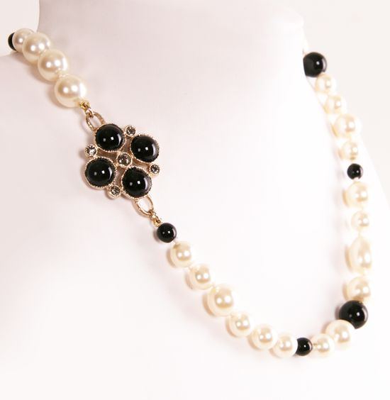 CHANEL NECKLACE @Michelle Flynn Coleman-Hers