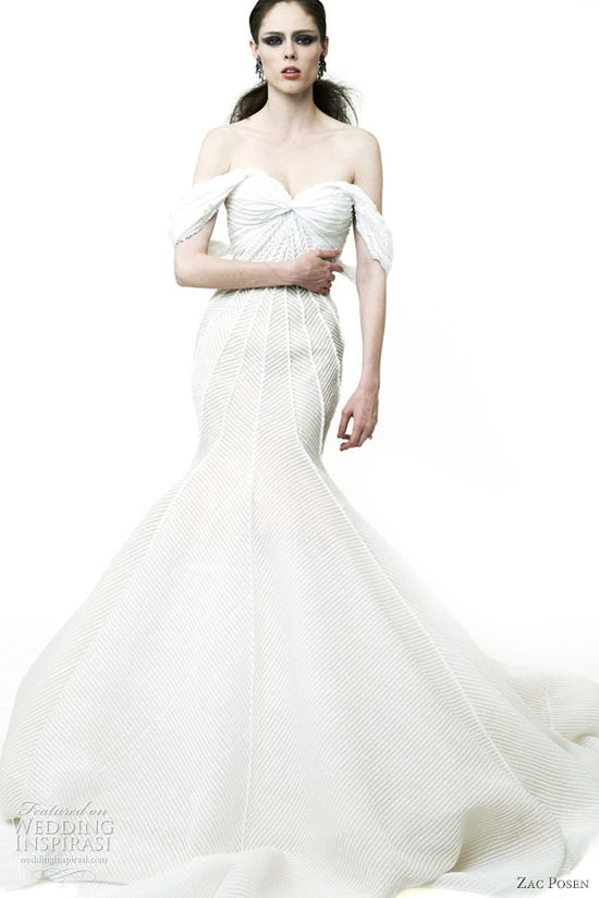 zac posen wedding dress 2012 resort