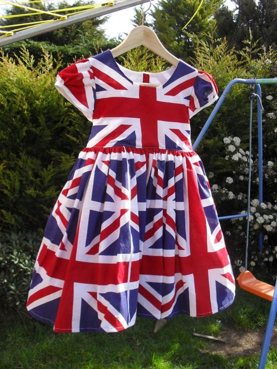 Union Jack dress.