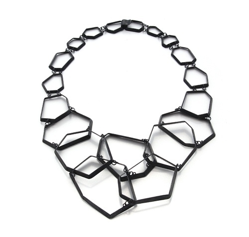 Necklace: Untitled | Birgit Hagmann / Contemporary German Jewellery