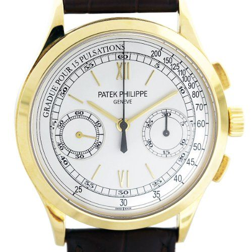 Patek Philippe 5170J Chronograph 18k Yellow Gold Mens Watch