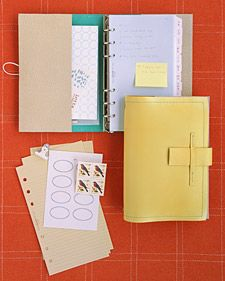 DIY Leather Planner