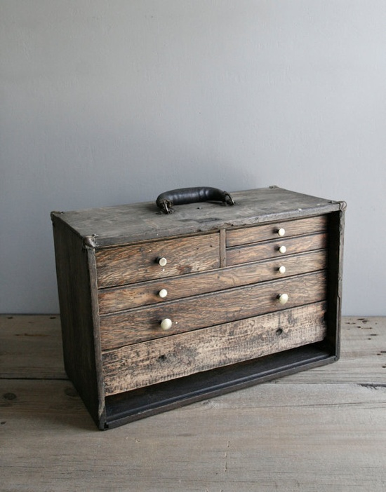machinist's tool chest by ohalbatross on Etsy, $ 215.00
