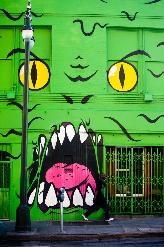 Almost Green #graffiti
