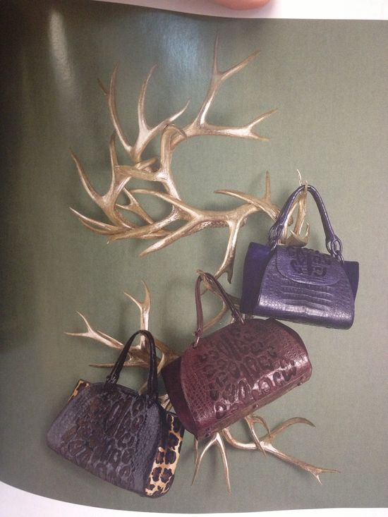 Creative way to display handbags