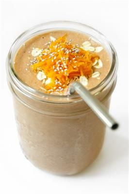 Dessert Hacks: Healthy Desserts that Taste Like Carrot Cake! Carrot Cake Smoothie