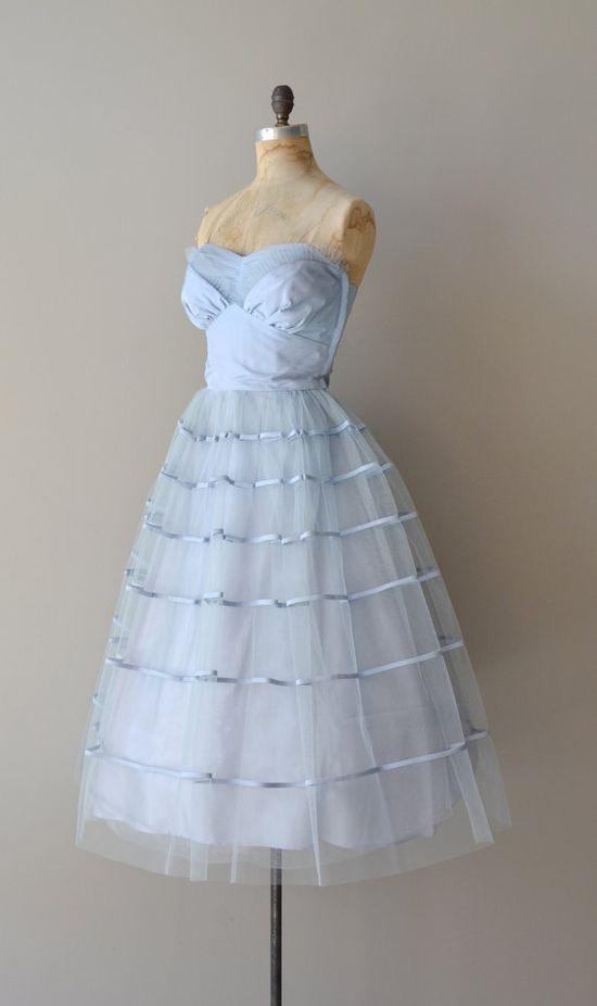 vintage 1950s party dress
