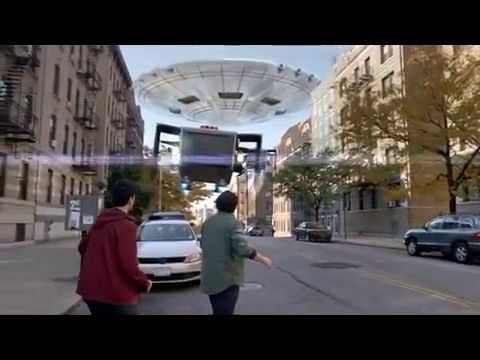 New York NYC Lottery Powerball TV Commercial Funny Ad of Alien Invasion ...