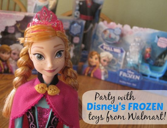 Disney's FROZEN Party Ideas #FrozenFun #CBias #shop