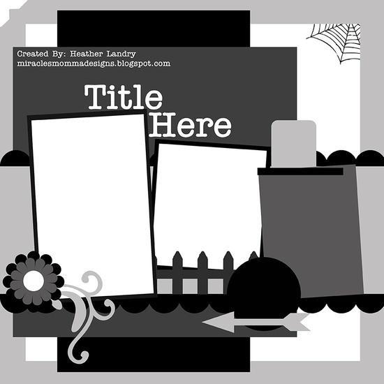 Sketch/Template 4 - Scrapbook.com