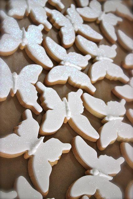 Butterfly Wedding Favour Cookies by ConsumedbyCake, via Flickr Keywords: #weddings #jevelweddingplanning Follow Us: www.jevelweddingp... www.facebook.com/...