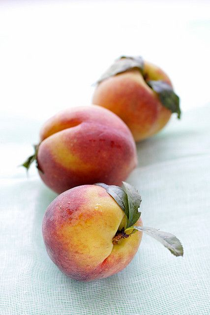 food styling :: peach...