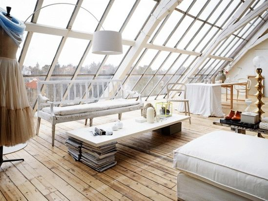 attic paris apartment
