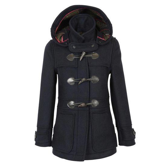 Wool buttermere duffel coat.