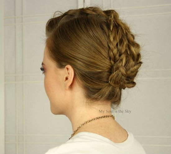 Mohawk French Braid : Inspired by Kate BosworthAlmay