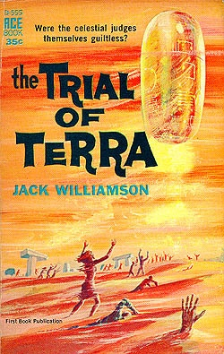 The Trial of Terra by Jack Williamson #book #cover