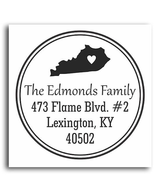 Take a look at this Kentucky Classic Personalized Self-Inking Stamp on #self personality #soft skills