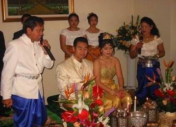 Cambodian traditional wedding