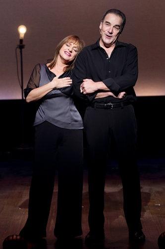 Patti LuPone and Mandy Patinkin