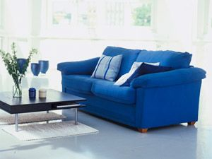 Decorating with Blue  Freshen up your decor with touches of indigo, navy and denim      Read more: Decorating with Blue - Home Decor in Blue Colors - Woman's Day