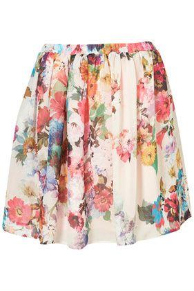 Blossom Skirt - Skirts - Clothing - Topshop