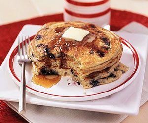 pick-a-grain fruit pancakes