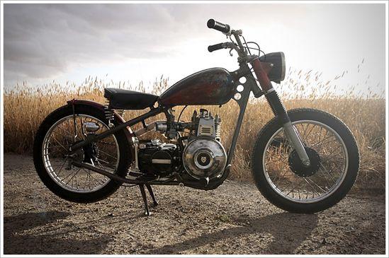 Brenton Newton's Honda CT110Bobber - Pipeburn - Purveyors of Classic Motorcycles, Cafe Racers & Custom motorbikes