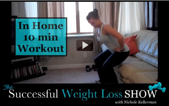 AWESOME WORKOUT! An At Home Workout For Women