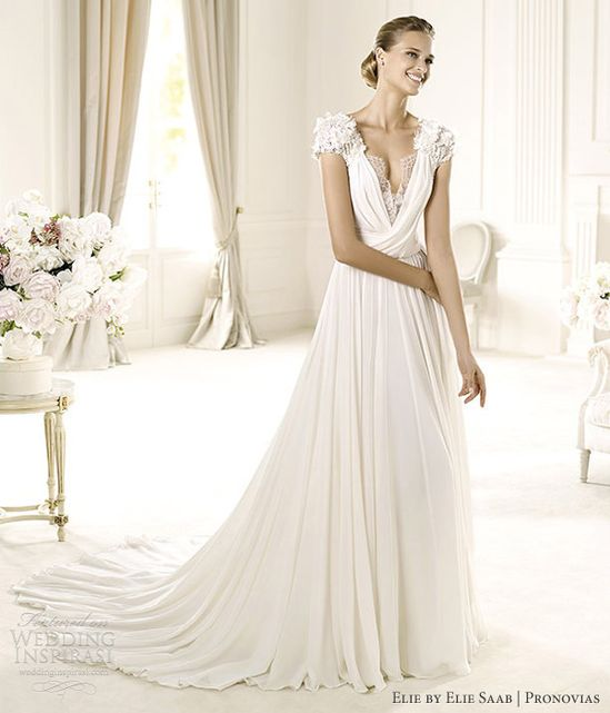 Louisse gown by Elie Collection for Elie Saab for Pronovias.