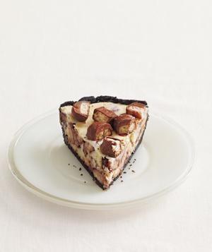 Twix Cheesecake Pie recipe