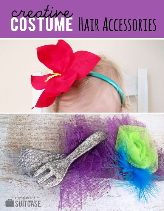DIY ::Princess Hair Accessories