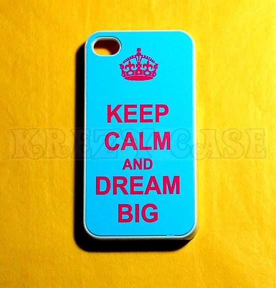 iphone 4 Case, iPhone 4s case Keep Calm