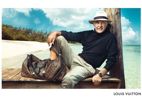 Sean Connery for Louis Vuitton