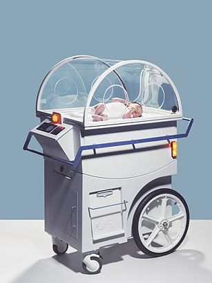 NeoNurture Incubator was developed by university students and utilizes old car parts to nurture preemies.