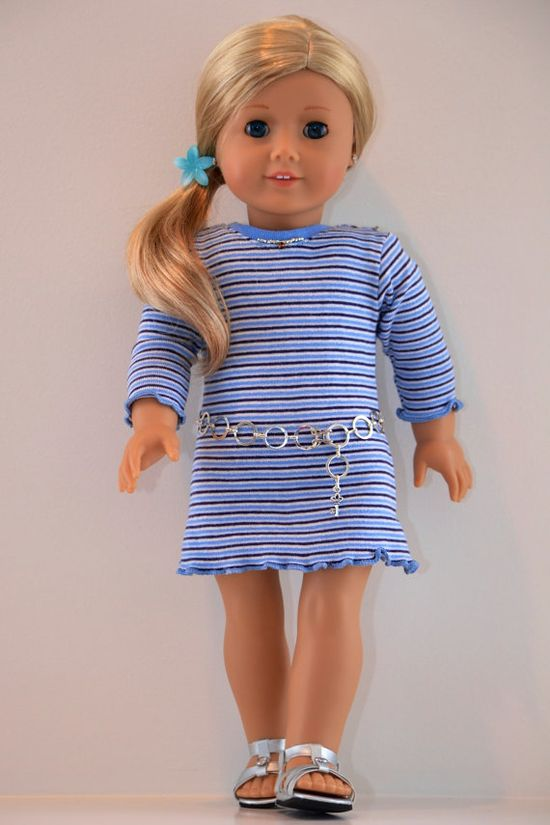 18 inch American Girl  Doll Clothing Jersey Knit by Simply18Inches, 20.00